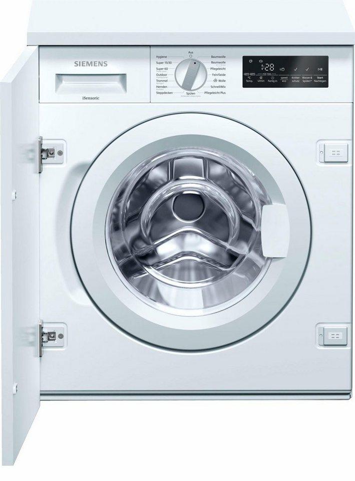 SIEMENS Waschmaschine WI14W440, 8 kg, 1400 U/Min