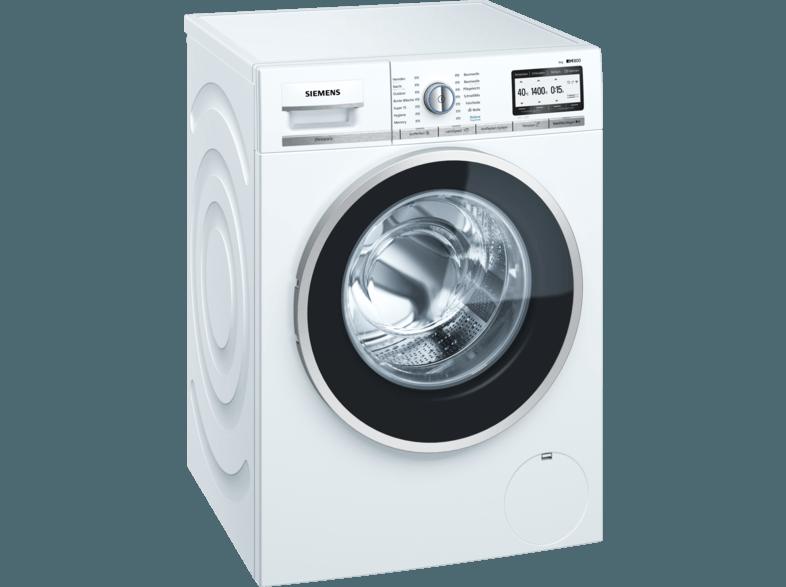 SIEMENS WM 4 YH 748 iQ800 Waschmaschine (8.0 kg, 1360 U/Min., A+++)