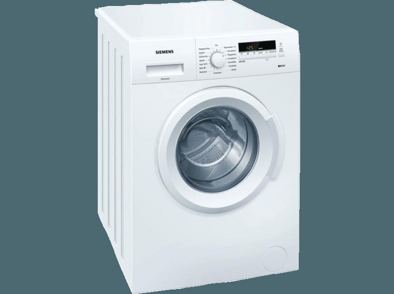 SIEMENS WM14B222 Waschmaschine (6.0 kg, 1395 U/Min., A+++)