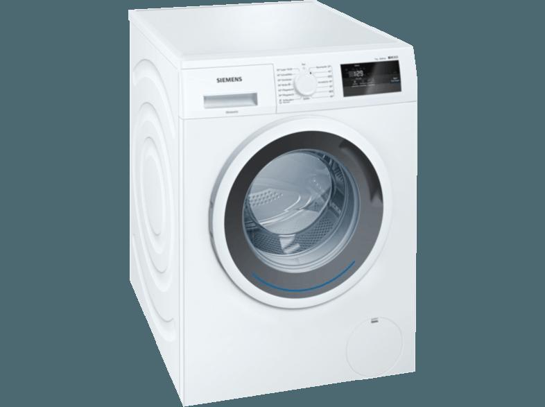 SIEMENS WM14N0A1 iQ300 Waschmaschine (7.0 kg, 1390 U/Min., A+++)
