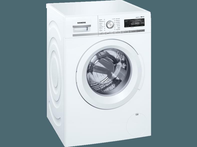 SIEMENS WM14W550 iQ700 Waschmaschine (8.0 kg, 1374 U/Min., A+++)