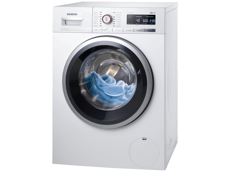 SIEMENS WM14W5FCB iQ700 Waschmaschine (9.0 kg, 1361 U/Min., A+++)