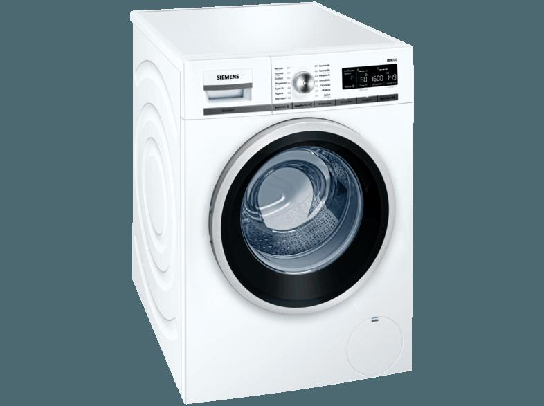SIEMENS WM16W541 Waschmaschine (8.0 kg, 1551 U/Min., A+++)