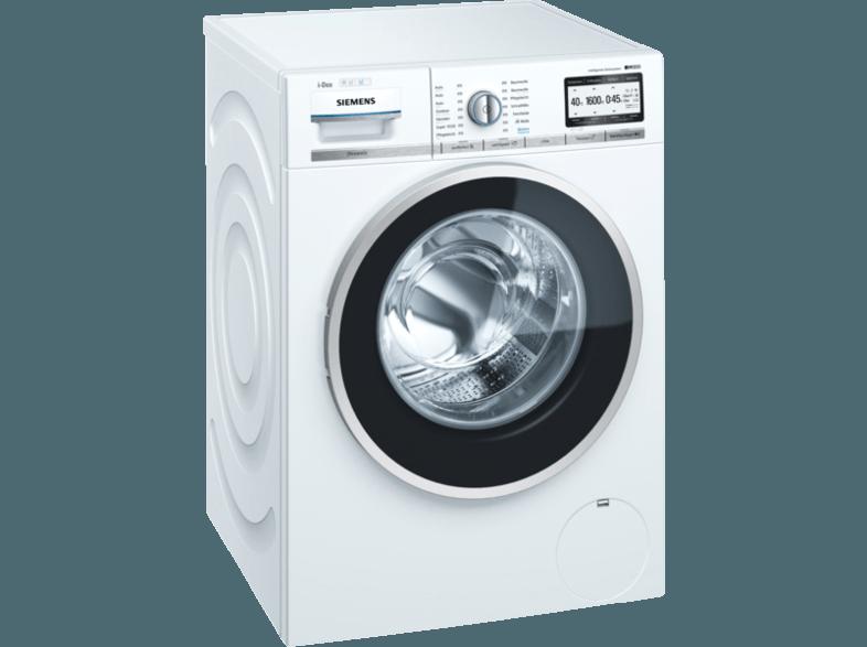 SIEMENS WM6YH842 iQ800 Waschmaschine (9 kg, 1556 U/Min., A+++)