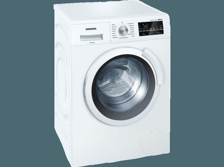SIEMENS WS12T440 Waschmaschine (6.5 kg, 1175 U/Min., A+++)