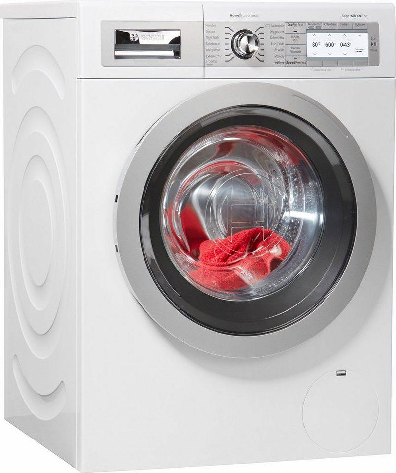 BOSCH Waschmaschine HomeProfessional WAY287W5, 8 kg, 1400 U/Min
