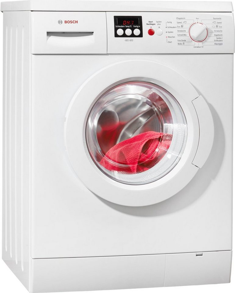 BOSCH Waschmaschine Serie 4 WAE282V7, 7 kg, 1400 U/Min, unterbaufähig