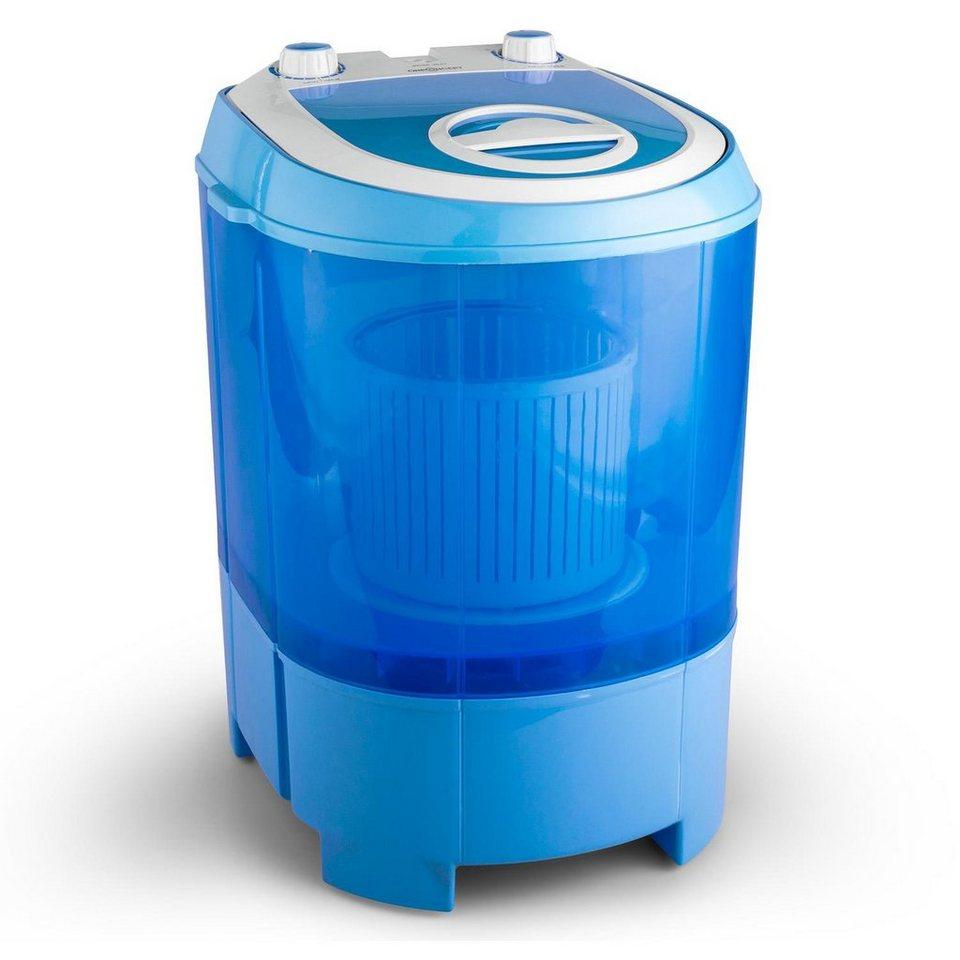 ONECONCEPT Mini Camping Waschmaschine Reisewaschmaschine Schleuder 2,8kg »SG003«
