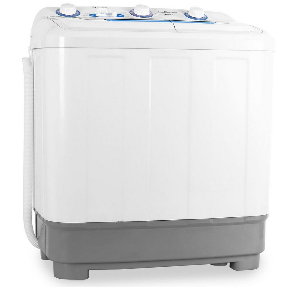 ONECONCEPT Single Camping Mini Waschmaschine Wäscheschleuder 4,8kg »DB004«