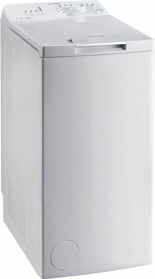 Privileg Waschmaschine Toplader PWT A51252P, 5 kg, 1200 U/Min