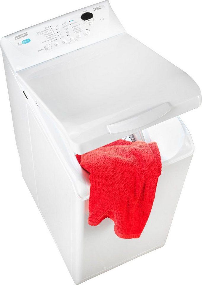 Zanussi Waschmaschine Toplader ZWQ71235SI, 7 kg, 1200 U/Min