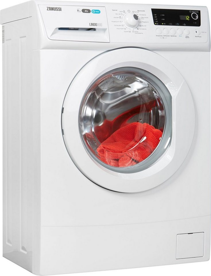 Zanussi Waschmaschine ZWS61210V, 6 kg, 1100 U/Min