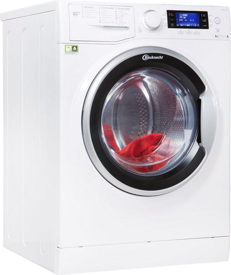 BAUKNECHT Waschtrockner WATK Sense 97D6, 9 kg/7 kg, 1600 U/Min