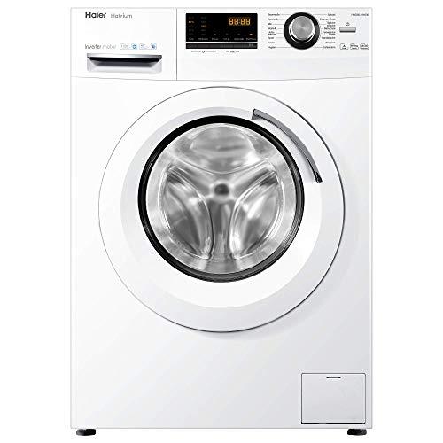 Haier HWD80-B14636 Waschtrockner/A / 1080 kWh/Jahr /1400 UpM / 8 kg Waschen / 5kg Trocken/Endzeitvorwahl/AquaProtect/Weiß