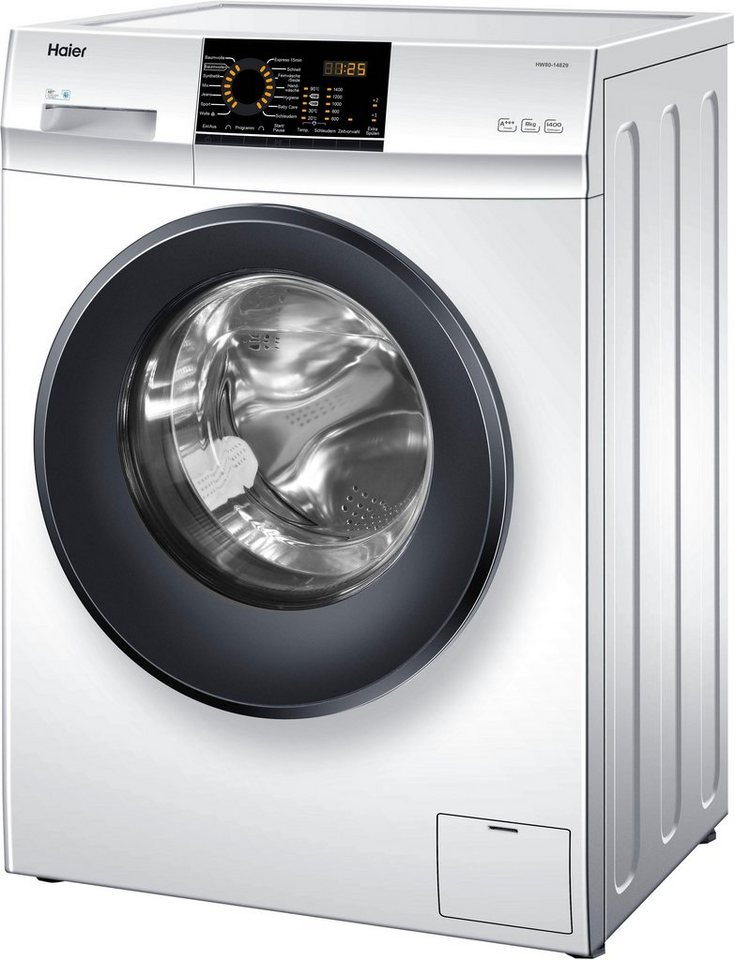 Haier Waschmaschine HW80-14829, 8 kg, 1400 U/Min