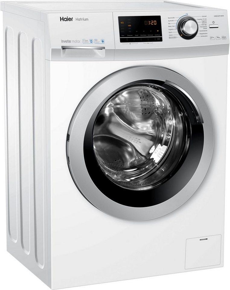 Haier Waschmaschine HW90-BP14636, 9 kg, 1400 U/Min