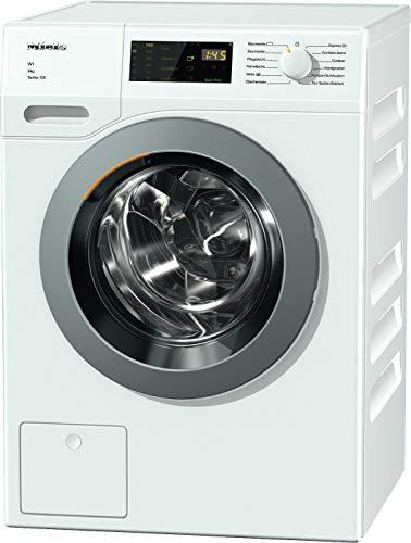 Miele WDD 035 WCS Series 120 Frontlader Waschmaschine / 1400 UpM / mit 8 kg Schontrommel / Startvorwahl und Restzeitanzeige / Einfache Bedienung per Fingertipp mit DirectSensor