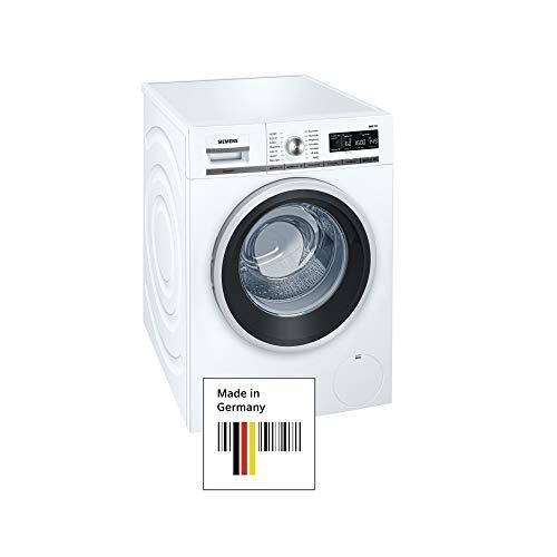 Siemens iQ700 WM16W541 Waschmaschine / 8,00 kg / A+++ / 196 kWh / 1.600 U/min / Schnellwaschprogramm / Nachlegefunktion / aquaStop /
