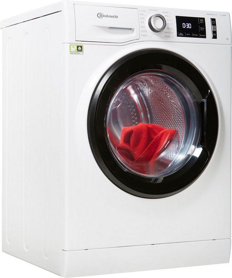BAUKNECHT Waschmaschine Super Eco 834, 8 kg, 1400 U/Min, 4 Jahre Herstellergarantie + kostenlose Altgerätemitnahme