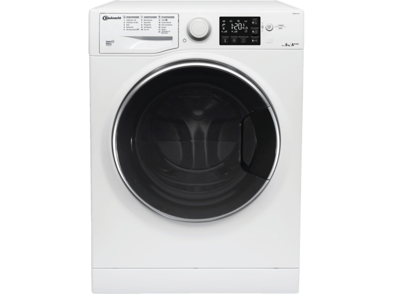 BAUKNECHT WM Steam 8 100 Active Care Steam Waschmaschine (8 kg, 1400 U/Min., A+++)