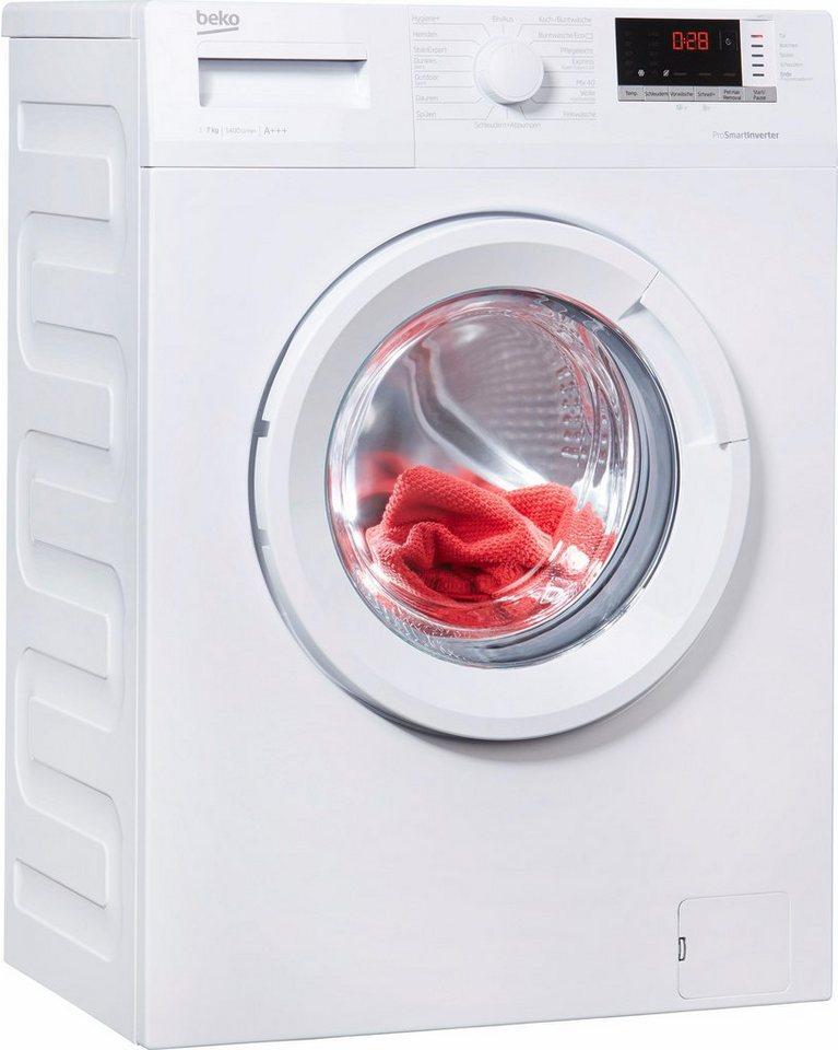 BEKO Waschmaschine WMO 722, 7 kg, 1400 U/Min