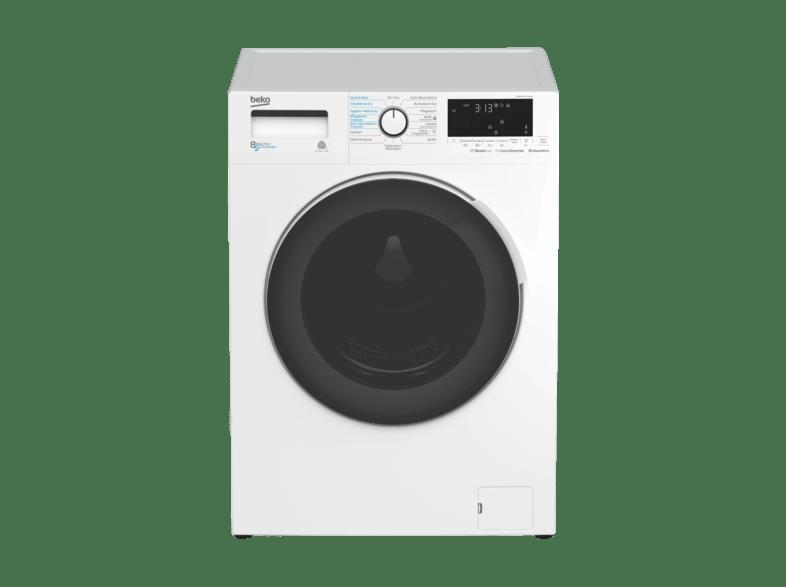 BEKO WDW 85141 STEAM Waschtrockner (8 kg/5 kg, 1400 U/Min., A)