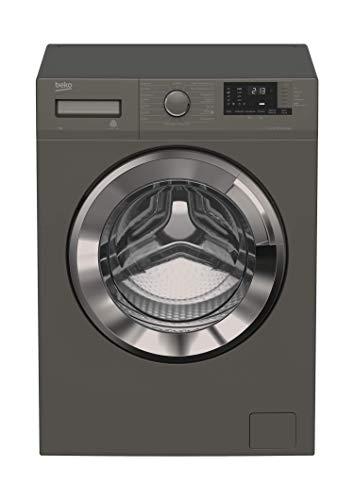 Beko WML 71433 PTEMG Waschmaschine Frontlader/A+++/1400UpM/Pet Hair Removal/ProSmart Inverter Motor/Lavagrau
