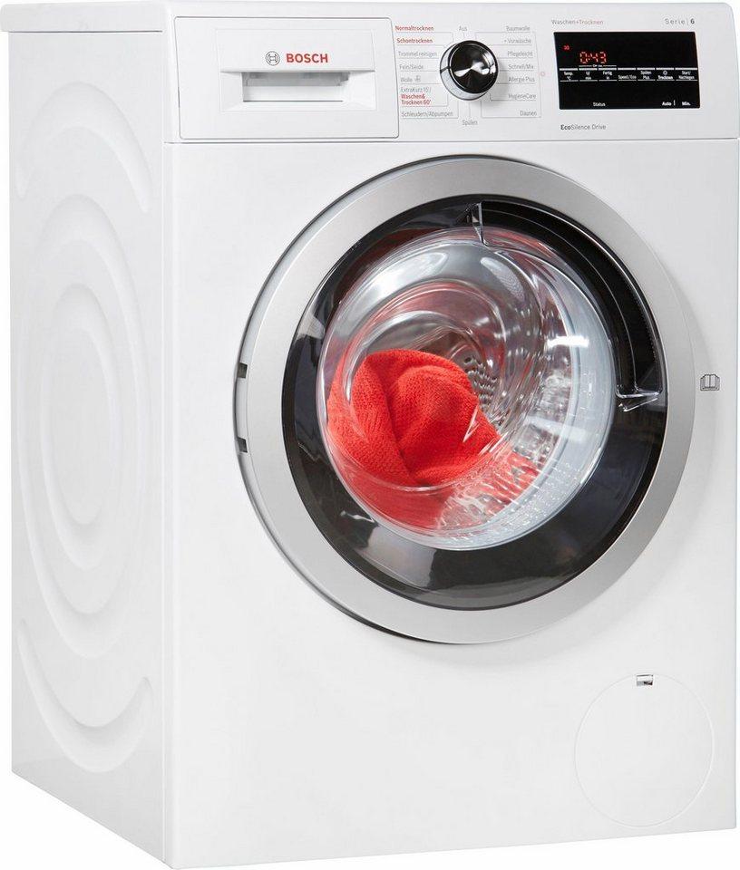 BOSCH Waschtrockner WVG30443, 7 kg/4 kg, 1500 U/Min