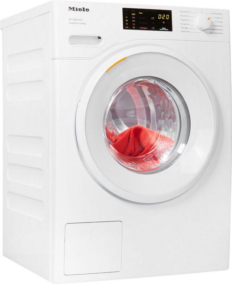 Miele Waschmaschine WSD323WPS D LW PWash, 8 kg, 1400 U/Min
