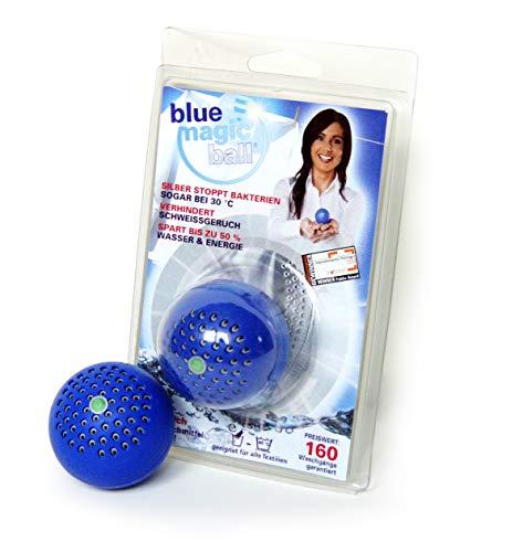 bluemagicball - Stoppt Schweißgeruch und Bakterien in der Wäsche und Waschmaschine! Blue Magic Ball