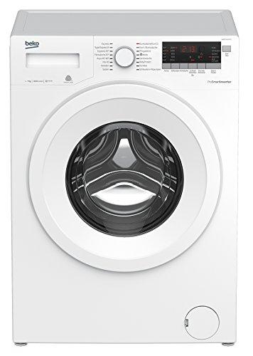 Beko WMB 71643 PTS Waschmaschine Frontlader/A+++/1600UpM/LED-Display/weiß