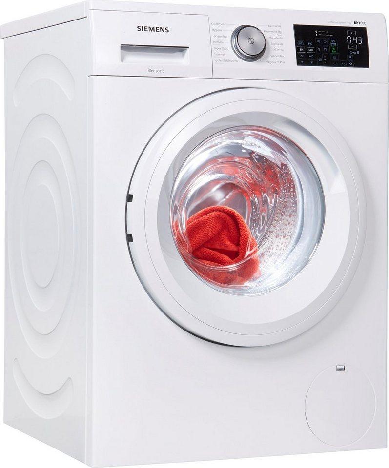 SIEMENS Waschmaschine iQ500 WM14T5EM, 8 kg, 1400 U/Min